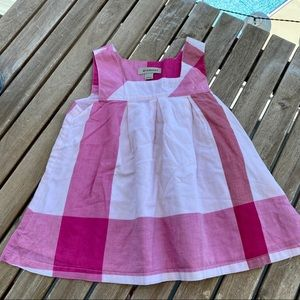Dress Burberry 5T sleeveless pink